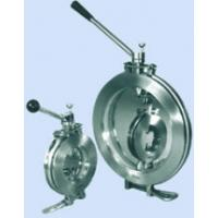 Quality Sanitary Clamped Butterfly Valve for sale