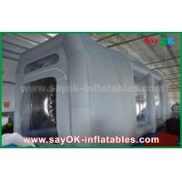 China PVC Spray Booth Waterproof Inflatable Bubble Tent For Car Paint Spraying on sale