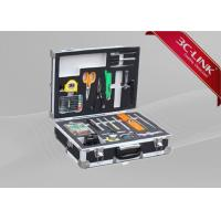 Quality Fiber Fusion Splicing Tool Kit Fiber Optic Machine Compact Field Fiber Splicing Tools for sale