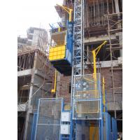 Blue Twin Cage Construction Material Hoists for Building SC200 of ...