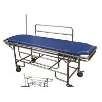 Quality Stainless Steel Frame Patient Transfer Stretcher With Removable Bed Top Board for sale