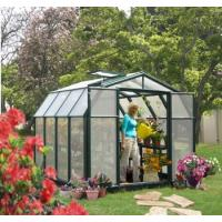 Quality 2012 widely used home/garden aluminum greenhouse HX65122G for sale