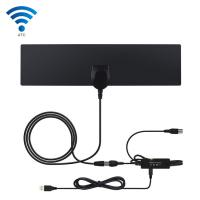 3 - 4M Coaxial Cable HD Television Antennas HDMI 1080P Color / Transparent Antenna