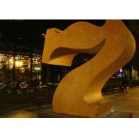 Quality Professional Number 7 Corten Steel Sculpture Without Base 180cm Height for sale