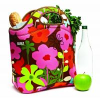 Quality Reusable Fashion Neoprene Shopping Bag / Large Market Tote with Handle for sale