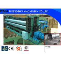 Buy cheap 5m/min Metal Steel Culvert Pipe Making Machine Water Conservancy Project 1250mm Width product