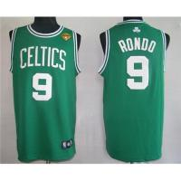Quality Rondo NBA jersey,Green Colour 9# Radon  homecourt jersey for sale