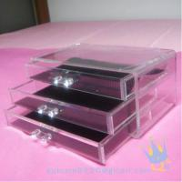 Quality cosmetic organizer acrylic for sale