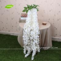 China GNW FLW1503 Artificial Flower Making Hanging Wisteria Flowers Manufacturer Wedding Decoration Table Centerpiece on sale