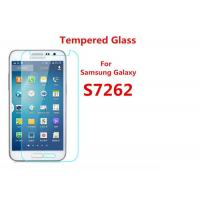 China Samsung S7262 2.5 D Samsung Tempered Glass Screen Protector Anti Fingerprint on sale