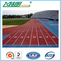 Quality Professional Jogging Track Material , Athleitc Sports Outdoor Running Track for sale