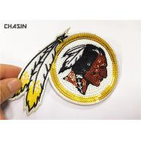 Quality 3 Tall Eco - Friendly Sequin Embroidery Patches For Woman Clothes for sale
