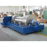 Quality Blue Three Phase Horizontal Decanter Centrifuge Centrifuge Separator for sale