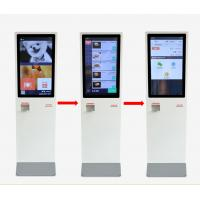 Quality Smart Touch Screen POS Machine Self Service IR Touch With 350nits Brightness for sale