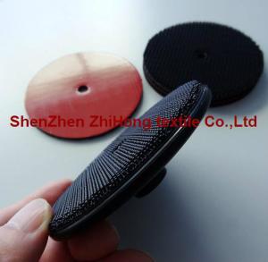 Abrasive polishing wheel disks with 3M heavy duty hook