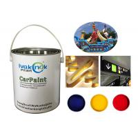 Quality Acid Resistance Advertising Paint , White Stainless Steel Coating Paint for sale