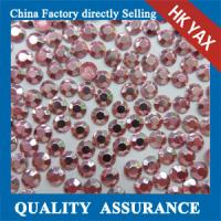 China Best quality hot fix rhinestuds, korean octagon aluminium hot fix rhinestuds& iron on stud on sale