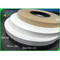 China FDA approved straw paper 60gsm 120gsm Good stiffness for paper straw on sale