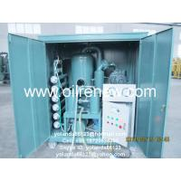Quality Dust Proof Type Transformer Oil Purifier|Dielectric Oil Reconditioning Machine ZYD-W-100 for sale