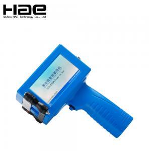 China Plastic steel metal pipe hand jet Printer wood handheld inkjet printer   text numbers logo printing machine on sale