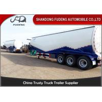 Buy cheap CE certification W shape bulk cement semi trailer , BPW axles pulverized fly ash coal ash powder tank from wholesalers