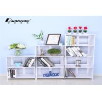 Buy cheap Multi-layer storage rack for large capacity stacks White Multi Size simple storage rack from wholesalers