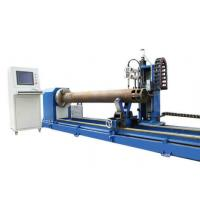 China 5 Axis CNC Plasma Pipe Bevel Cutting Machine For Sale on sale