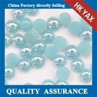 China wholesale flat back pearl for nail, heart transfer pearl for nail on sale