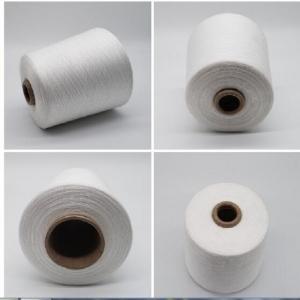 Spun Polyester Yarn Polyester Raw Material For Knitting Or Weaving Made Of Staple Fiber
