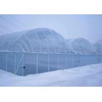 Quality 8m Tunnel 150 Micron 200 Micron Plastic Film Greenhouse for sale