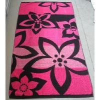 Quality Yarn Dyed Jacquard Beach Towel Approved by Okeotex for sale