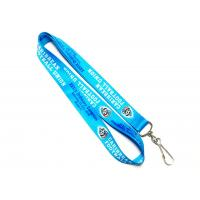 Quality Heat Transfer Lanyard CMYK Full Colors Sports Event For Audience Neck Strap J Hook for sale