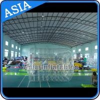 Quality Swimming Pool / Park Transparent Inflatable Water Roller Ball for sale