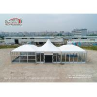 Buy cheap Special Outside Party Tent , Aluminum Tent  With Modular Pyramid Roof Top For Exhibition from wholesalers