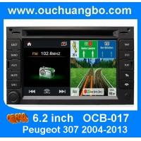 China Ouchuangbo S100 Peugeot 307 2004-2013 Multimedia DVD GPS Navi Player french iPod USB SD on sale