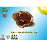 Buy cheap Ref No BD032 Brass flower tombstone decoration bronze blossom material copper alloy product
