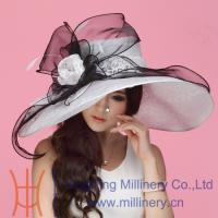 China Stylish Elegant Organza Hats Wholesale for Ladies in 2014 on sale