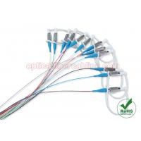 Quality 12 Colors DIN Single Mode Fiber Optic Cable / Pigtail For Data Centers for sale