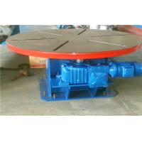 5T Horizontal Rotary Welding Positioners Turntables Heavy Duty