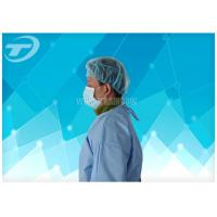 Quality Nonwoven Disposable Surgical Gowns / Surgical Scrub Suits CE And ISO for sale