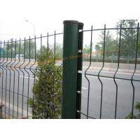 Quality Customized PVC Powder Coated Wire Mesh Fence For Highway / Railway Protection for sale