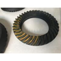 NISSAN Spiral Bevel Gear Crown Wheel Pinion Big Diameter 20CrMnTiH Material