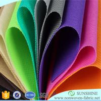 China Best quality for colorful PP spunbond nonwoven fabric,100%polypropylene,medical,qgriculture,bags,tnt tablecloth on sale