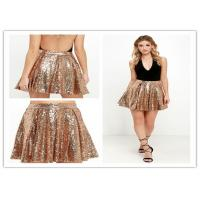 Quality Newest Design Women Sequin Skirt Mini Party Skirt Hot Sale for sale