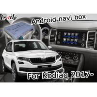 Quality Skoda Kodiaq Easy Installation GPS Navigation Device Support Android Interface Youtube Video Play for sale
