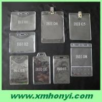 Quality pvc badge tag holder,id name card holder for sale