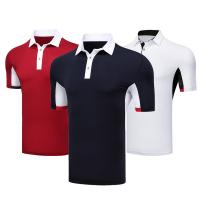 Quality Casual Business Breathable Black Company Polo Shirt Heat Transfer Formal Style 100% Polyester for sale