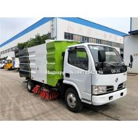 Quality Small Street Cleaner Vehicle Road Sweeper Truck Mobile Cleaning Stainless Steel for sale