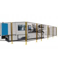 Quality Inline Palletizer Protector Machine Perimeter Guarding , Wire Machine Guard Fencing for sale
