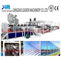 Quality with UV coating polycarbonate pc solid/embossed acrylic sheet extrusion making equipment for sale